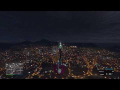 GTA 5 glide bmx stunt