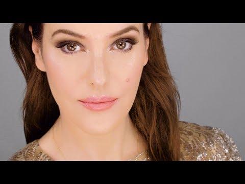 Simple Smokey Eye & Rosy Lip - using drugstore makeup