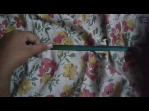 How to make a gymnastic ribbon very easy-crazart