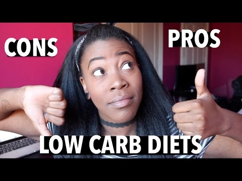 PROS & CONS OF LOW CARB DIETS
