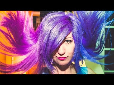 How To: Color Changing Hair Secret REVEALED! Blue, Purple, Violet, or Pink?