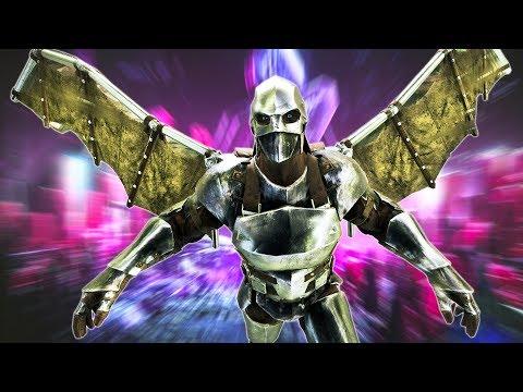 ARK: Survival Evolved - WINGSUIT FLYING!! (ARK Aberration)