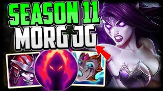 How to play Morgana Jungle & CARRY! + Best Build/Runes | Morgana Guide Season 11 League of Legends