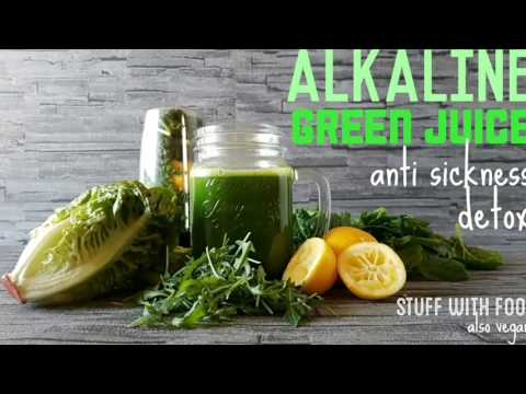 ALKALINE Green JUICE (anti-cancer-sickness)  |STUFF WITH FOOD. Also vegan