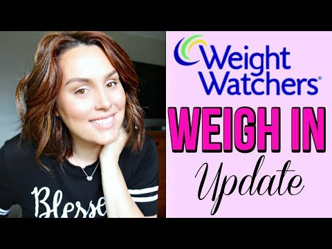WEIGH IN UPDATE / WEIGHT WATCHERS / POINTS PLUS / DANIELA DIARIES