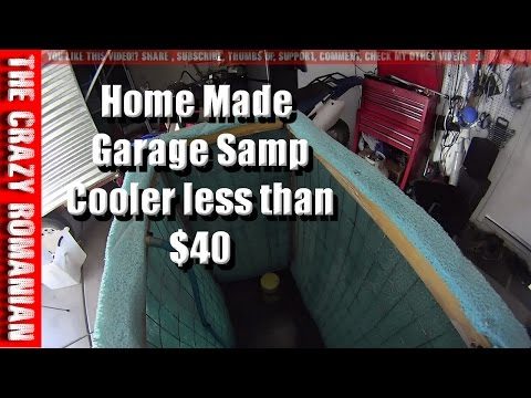 How to build a Swamp Cooler for the GARAGE less $40