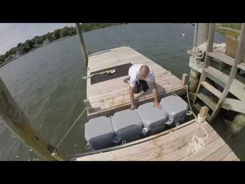 JetFloat jet ski dock build and installation