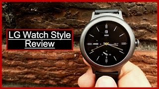 LG Watch Style Unboxing And Review