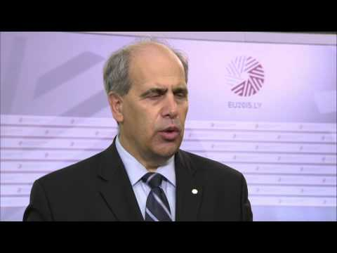 Doorstep by Peter Burian ahead of Meeting of EU and Central Asian Ministers for Education