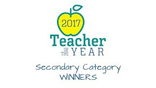 2017 Dallas ISD Teacher of the Year-Secondary Category Winner
