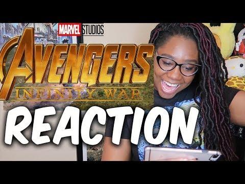Avengers Infinity War  Final Trailer Reaction. WE GOIN BACK TO WAKANDA