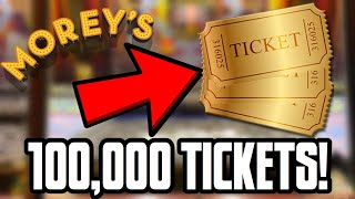 WINNING 100,000 ARCADE TICKETS IN ONE DAY!! INSANE JACKPOT WINS! (Mariners Arcade Wins)