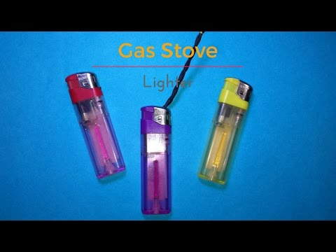 How to Make | DIY | gas stove lighter | Cigarette Lighter