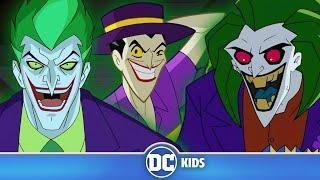 Escape The Joker Trap | Classic Batman Cartoons | DC Kids