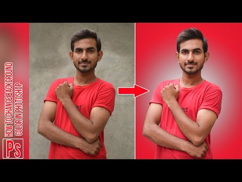 How to Change Background Color in Photoshop cc 2017