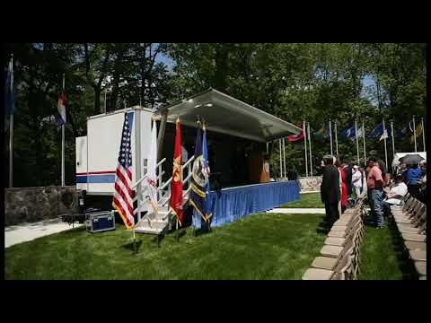 Memorial Day Service at Fort Custer National Cemetery