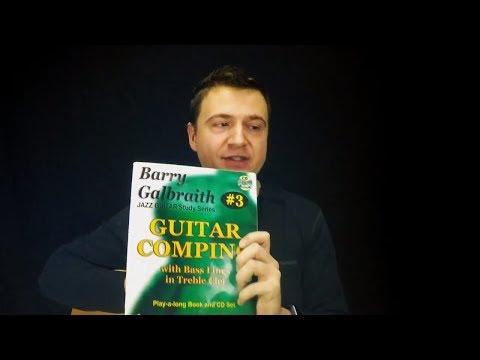 Jazz Guitar Vlog - Galbraith's Blues in 12 Keys (Part 2) - Comping Book