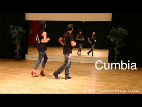 1 Salsa Basic Steps: Mambo, Rumba & Cumbia
