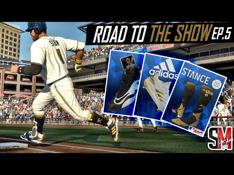 Diamond Speed Boost! MLB The Show 18 RTTS EP:5