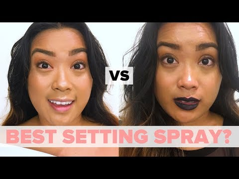 We Tried To Find The Best Makeup Setting Spray