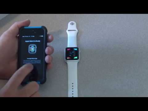 HOW TO PAIR & UN-PAIR APPLE WATCH