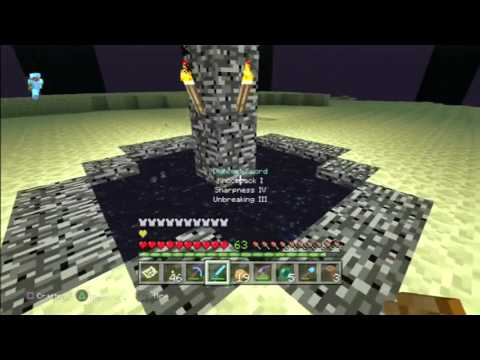 Minecraft PS3/Xbox360 How to Respawn the Ender Dragon + Tipped Arrows