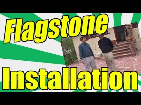 Flagstone Installation. Learn How You Can Lay Your Own Natural Stone Patio