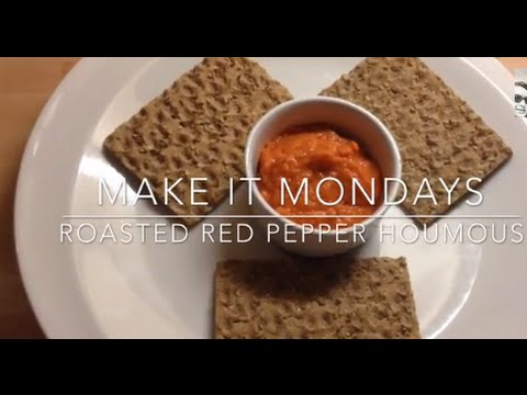 Slimming World Recipes Syn Free | Roasted Red Pepper Houmous