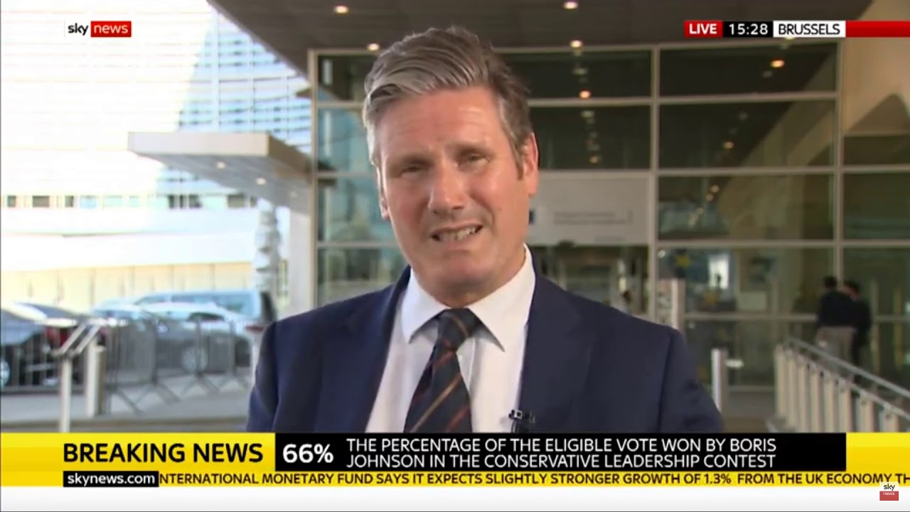 Shadow Brexit Secretary Sir Keir Starmer on Johnson's election and Labour's Brexit policy