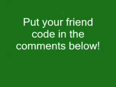 Pokemon Heart Gold/Soul Silver Friend Codes