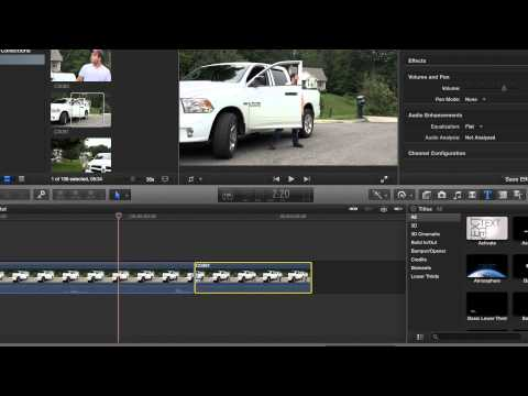 How To split and delete video clips in Final Cut Pro X