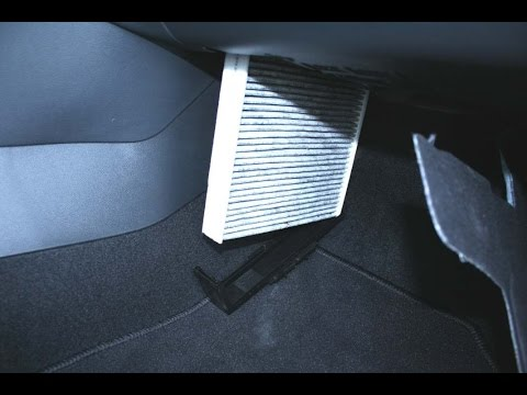 Skoda Rapid how to change cabin air filter