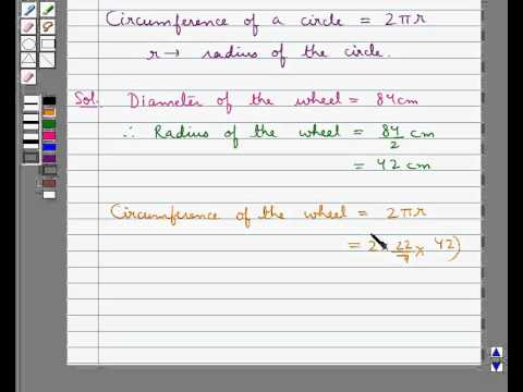 Example: Find Number of Revolutions made by Wheel