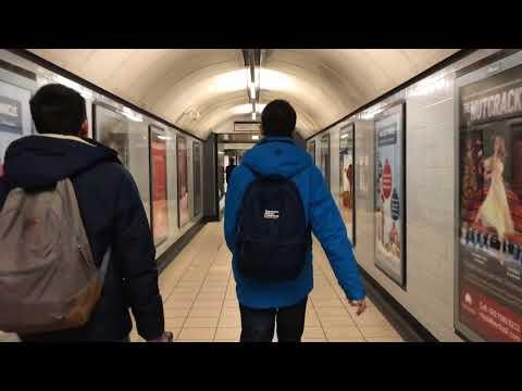 ตอนที่ 2 : นั่งรถไฟใต้ดินจากสถานี Heathrow Terminal 5 ไปสถานี Euston