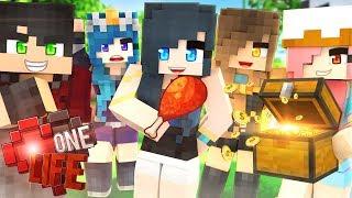 IF WE DIE...WE LOSE EVERYTHING! | Minecraft One Life | Episode 1