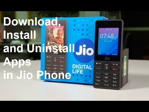 [Hindi-हिन्दी] How Download,Intsall and Uninstall Apps in Jio Phone