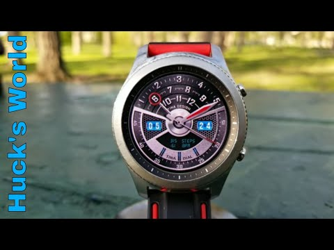 Top Gear S3 Watch Faces By:Tina Dial