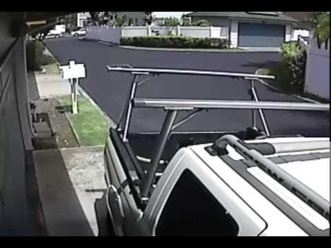 Nissan Frontier Hit My Garage