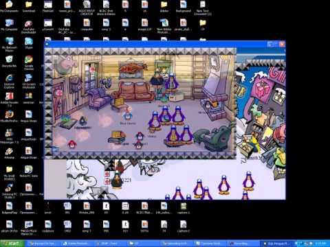 Club Penguin Flash Game