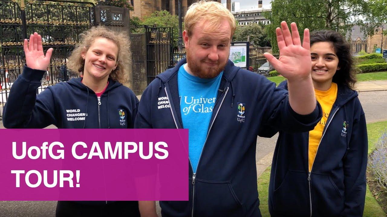 University of Glasgow campus tour