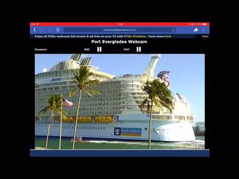 Harmony of the Seas the biggest cruise ship in the world