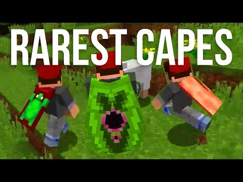 The Rarest Capes in Minecraft