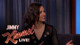 Download Naomi Scott on Throwing the First Pitch Video