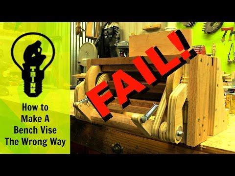 How to make a bench vise fail!