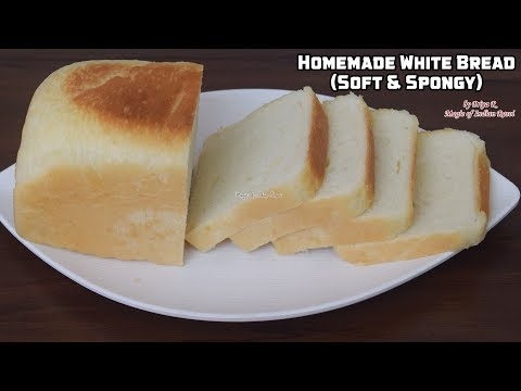 Homemade White Bread 🍞 Soft & Spongy (In Eng)- Priya R -Magic of Indian Rasoi