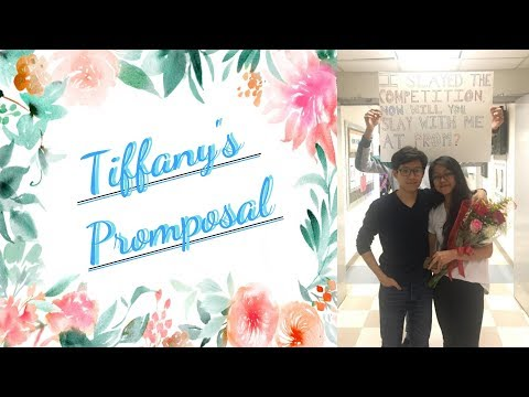 Tiffany's Surprise Promposal - 06/06/18