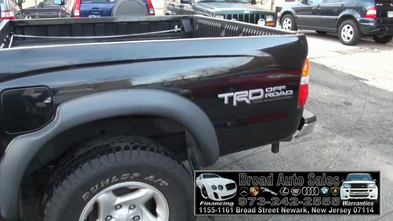 2003 Toyota Tacoma PreRunner Double Cab V6 TRD SR5 2WD