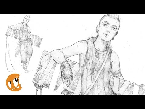 Stream: Red Character Sketch from Head to Toe - Kickstarter Kick off Celebration