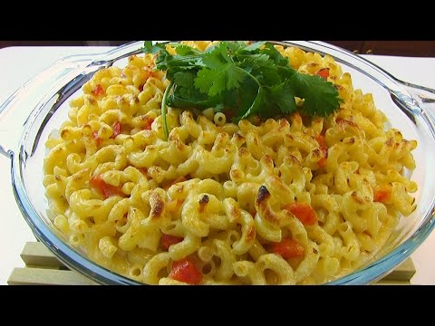 Betty's Spicy Queso Blanco Macaroni and Cheese