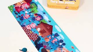 4GL Mideer 4 Theme Fairy Tale Story Puzzle 36 Pcs toys education